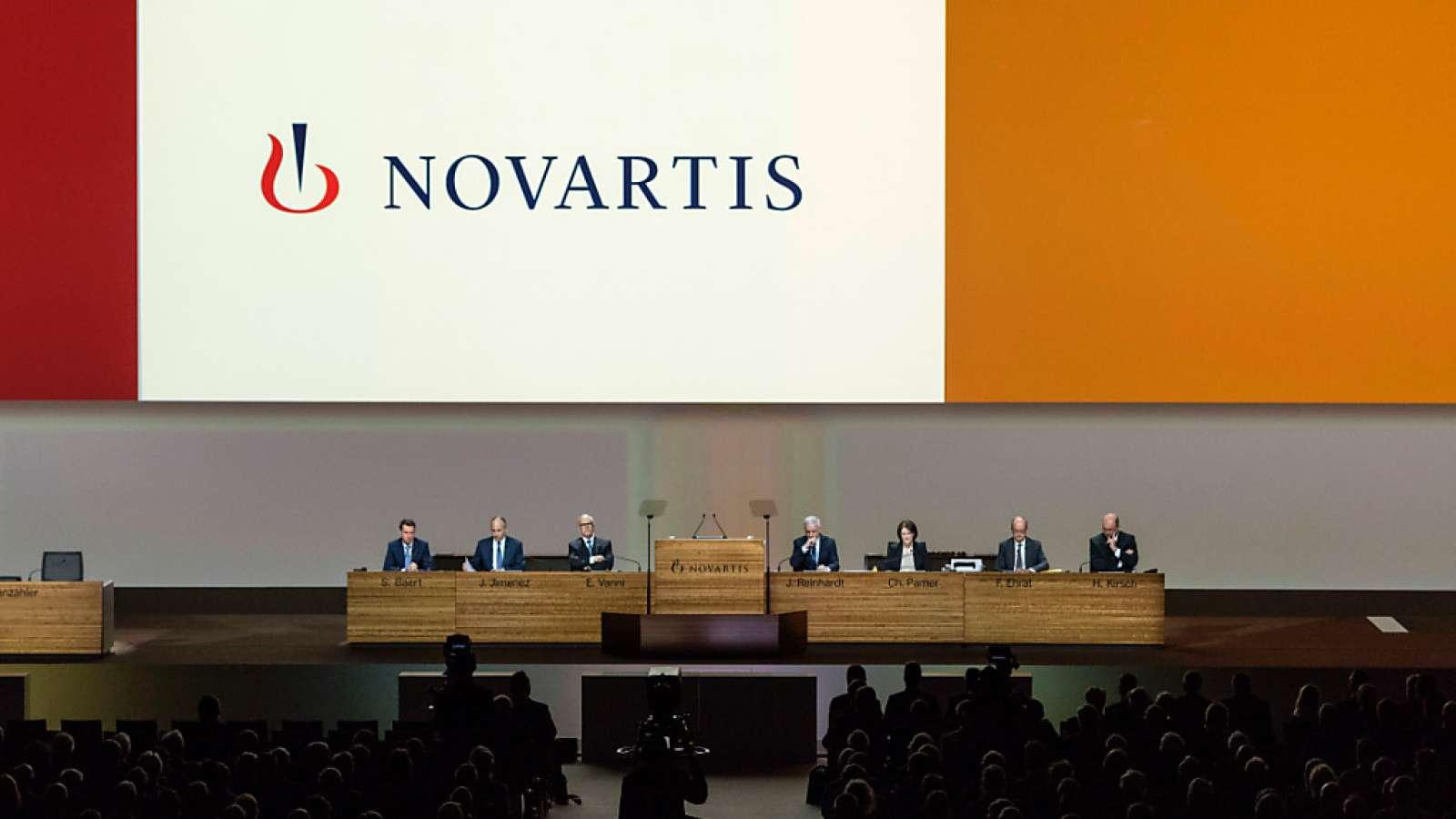 Der Pharmakonzern Novartis tut Gutes und spricht davon. (Archiv)
