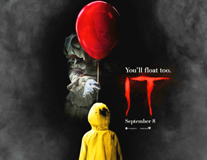 Es It Poster Pennywise Ballon