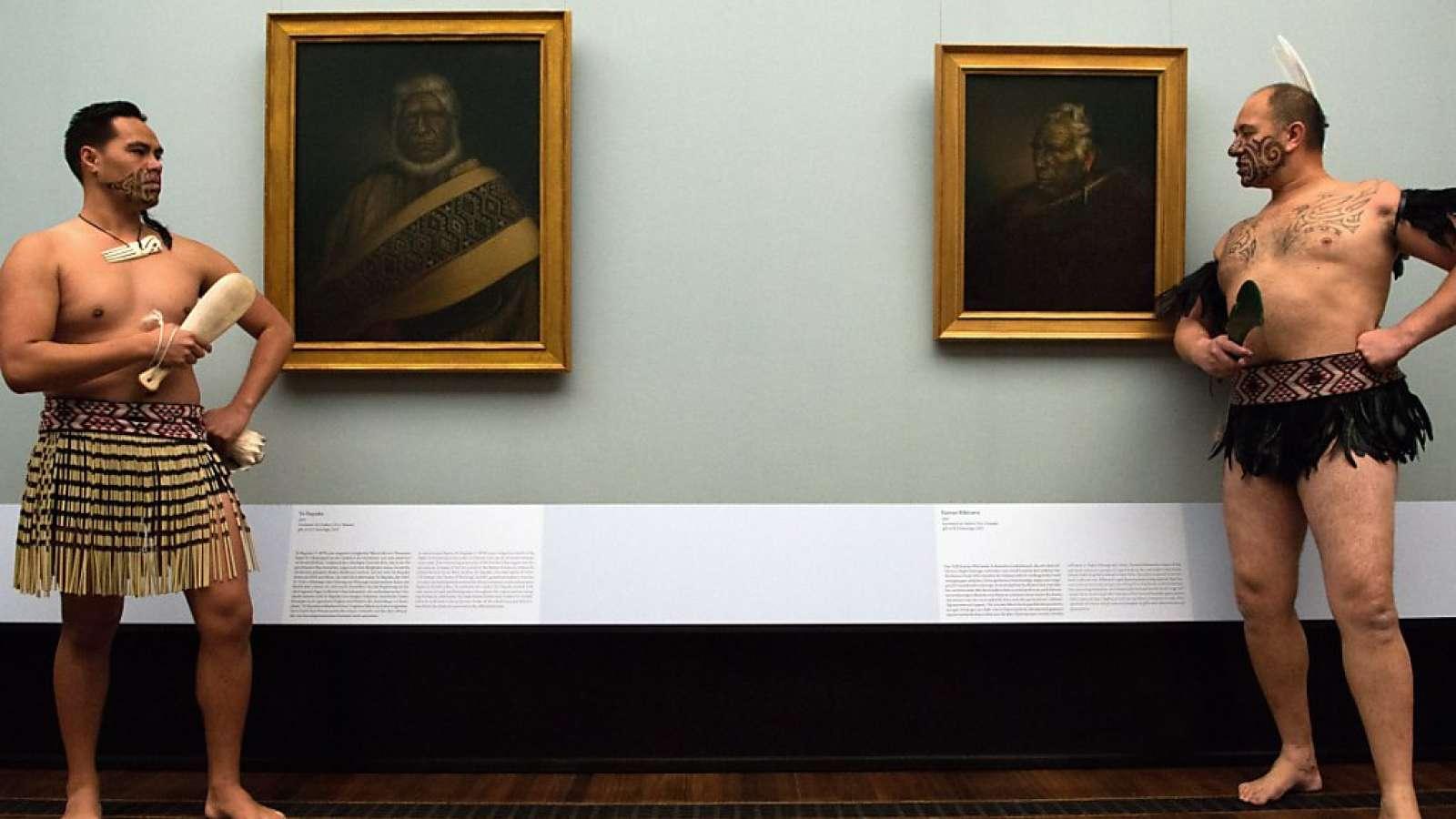 Gottfried Lindauers Maori-Portraits wurden spektakulär aus einer Galerie im neuseeländischen Auckland entwendet. (Symbolbild)