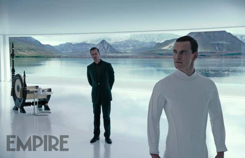 Guy Pearce Michael Fassbender Alien: Covenant