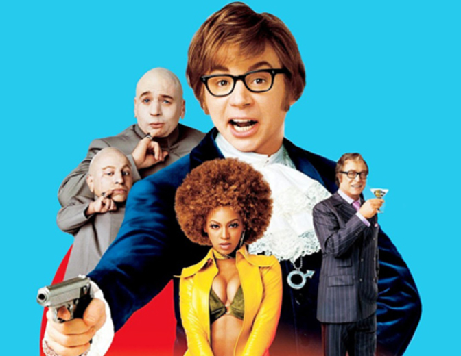 Austin Powers 3 Goldstaender Poster