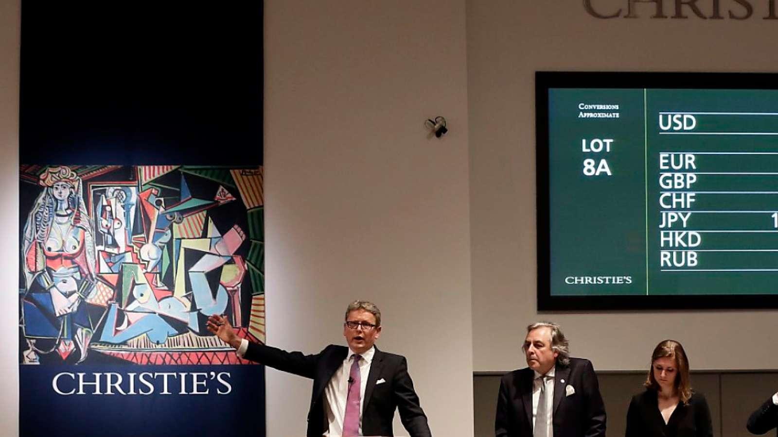 Bei dem Auktionshaus Christie's wurde ein Picasso für 45 Millionen Dollar versteigert. (Archivbild von früherer Picasso-Auktion)