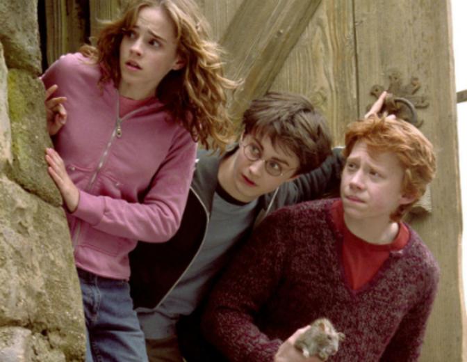 Harry Potter Ron Hermine Der Gefangene von Askaban