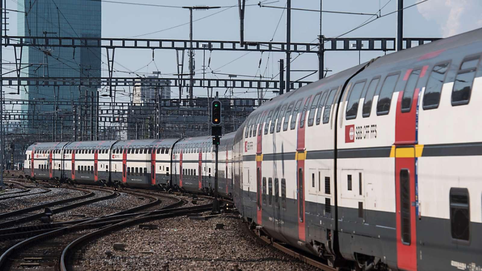 Mit der Digitalisierung will die SBB in den nächsten Jahren die Kapazität des Schienennetzes um bis zu 30 Prozent steigern. (Archivbild)