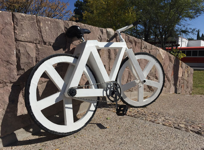 urban gc1 fahrrad aus papier