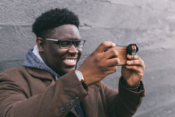 smartphone gadget aufstecklinse