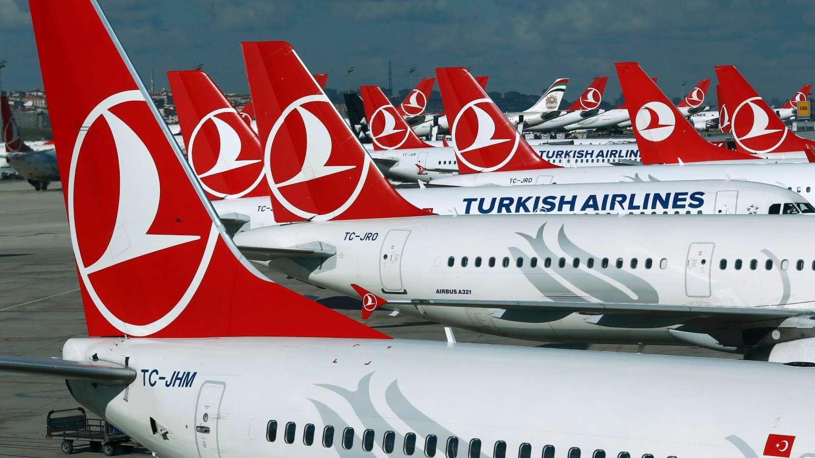 Turkish Airlines fliegt mehr Länder an als alle anderen Fluglinien.