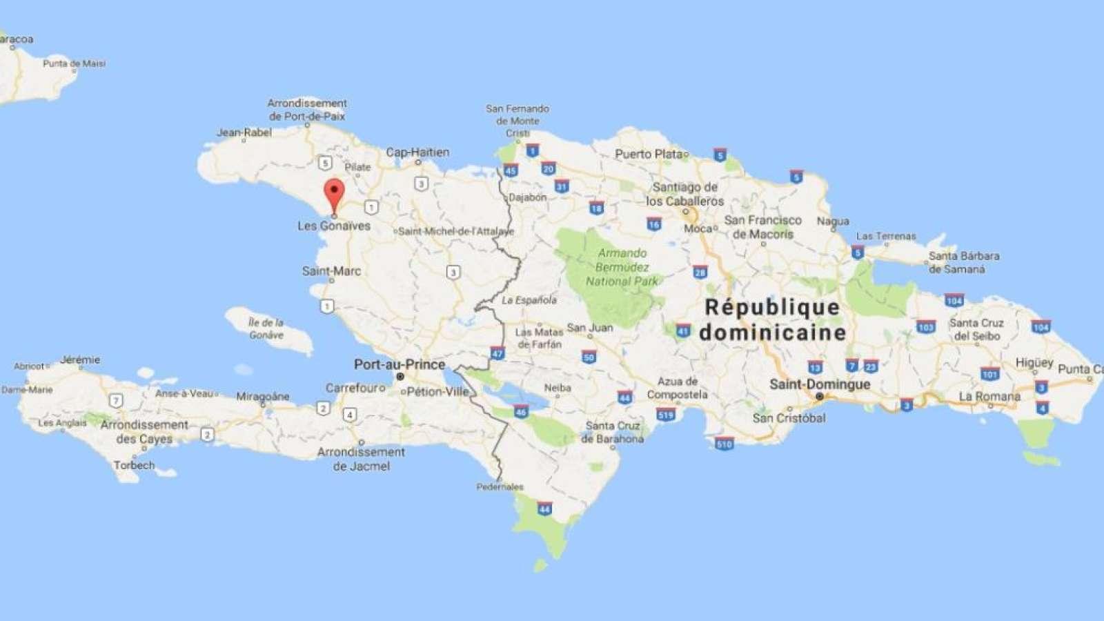 Der Unfall ereignete sich in Gonaïves, rund 150 Kilometer nördlich von Haitis Hauptstadt Port-au-Prince