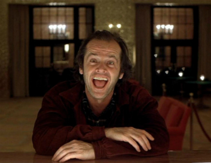 Jack Nicholson Shining