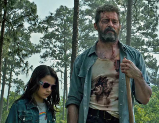 Logan Wolverine Hugh Jackman Dafne Keen Laura