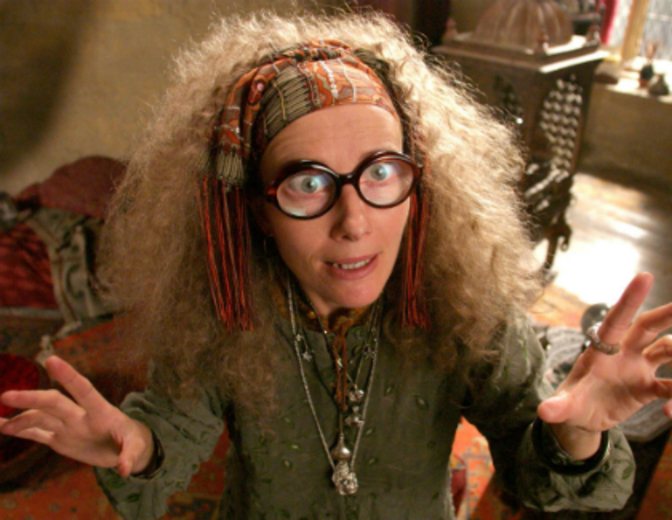 Sibyll Trelawney Harry Potter