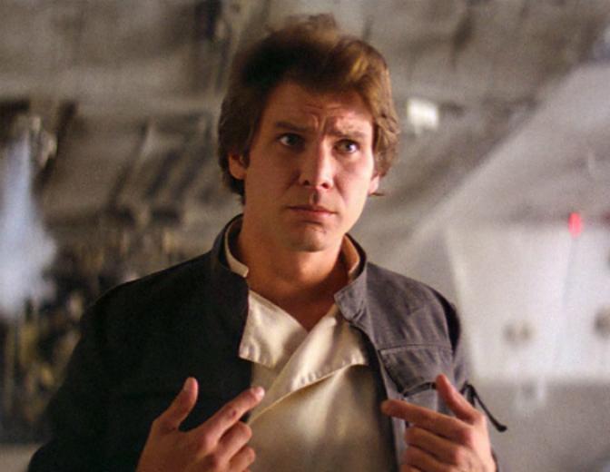 Han Solo Imperium schlaegt zurueck Star Wars Harrison Ford