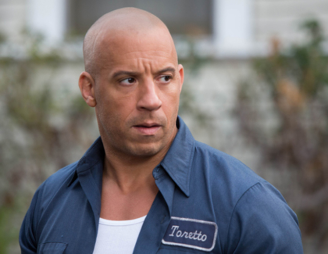 Vin Diesel Fast Furious Dominic Toretto