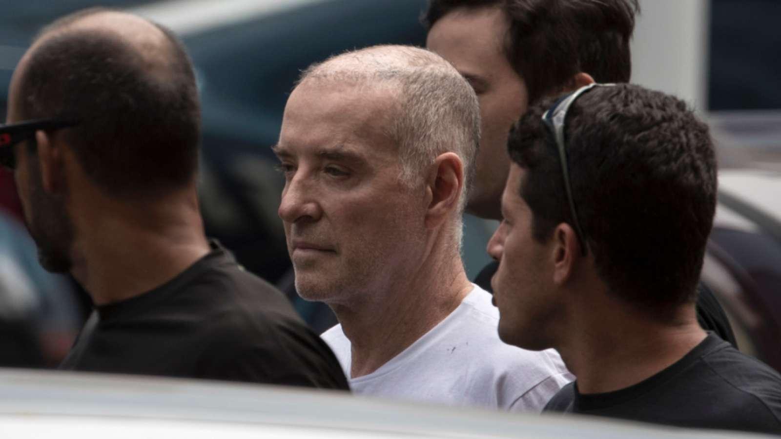 Der unter Korruptionsverdacht stehende brasilianische Unternehmer Eike Batista ist aus dem Gefängnis entlassen worden und untersteht nunmehr lediglich Hausarrest. (Archivbild von seiner Verhaftung)