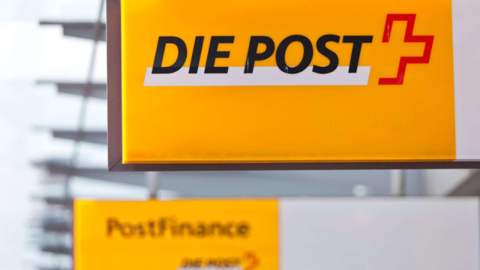 Logo von Post und Postfinance